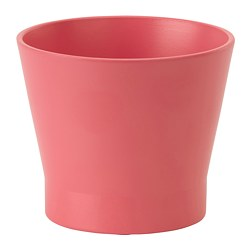 PAPAJA plant pot, red