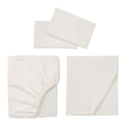 PUDERVIVA sheet set, white