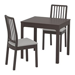 Ekedalen Table And 2 Chairs