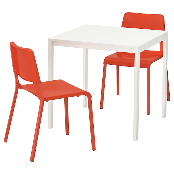 Orange Kitchen Table And Chairs: MELLTORP / TEODORES Table And 2 Chairs