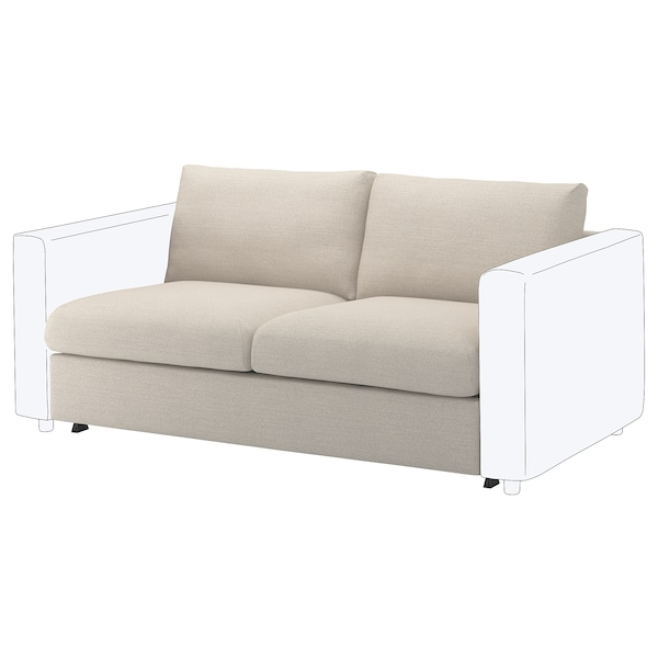 Amazing Vimle Loveseat Sleeper Section Gunnared Beige Home Interior And Landscaping Mentranervesignezvosmurscom