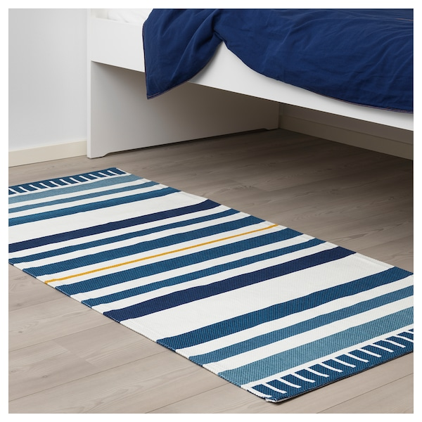 s ngl rka tapis tiss plat bleu fonc ikea. Black Bedroom Furniture Sets. Home Design Ideas