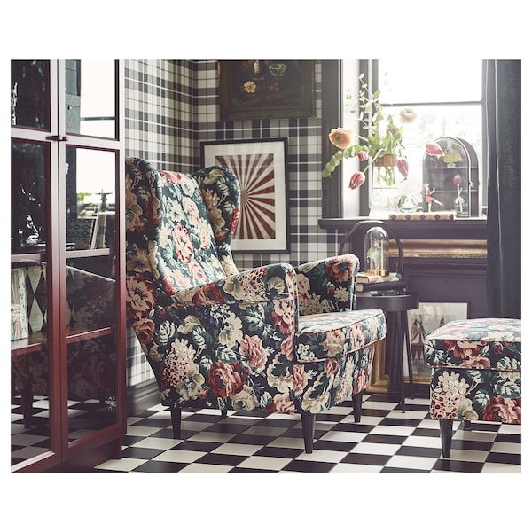 Wing Chair Strandmon Lingbo Multicolour