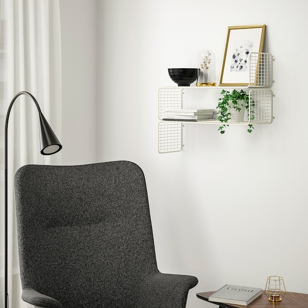 Svenshult Wall Shelf White Ikea