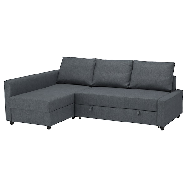 Ikea Divano Friheten.Sleeper Sectional 3 Seat W Storage Friheten Hyllie Dark Gray