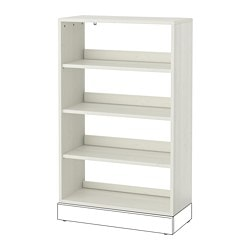 HAVSTA shelving unit, white