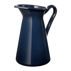 SOCKERÄRT vase, dark blue