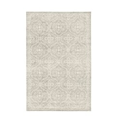 HOPTRUP rug, low pile, gray