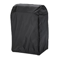 TOSTERÖ cover for barbecue, black