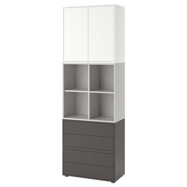b568ed804eed EKET Cabinet combination with feet - white