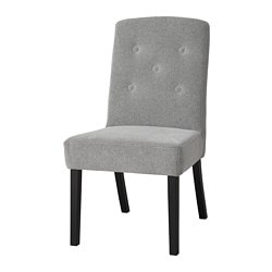 SVENARNE chair, Tallmyra white, black