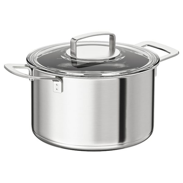 Pot With Lid Ikea 365 Stainless Steel Gl