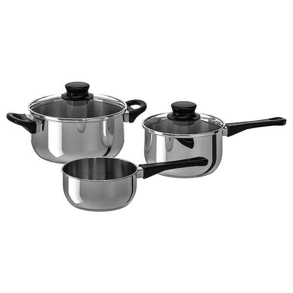 5 Piece Cookware Set Annons Gl Stainless Steel