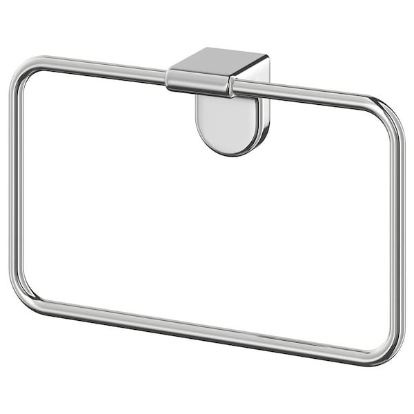 kalkgrund towel hanger chrome plated ikea