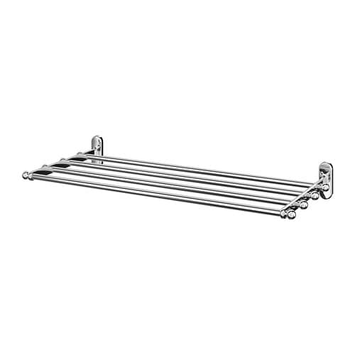 IKEA VOXNAN Wall shelf with towel rail