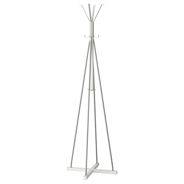 Hat And Coat Stand Tjusig White