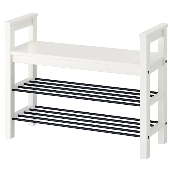 Bench With Shoe Storage Hemnes White