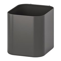 SKÅDIS container, gray