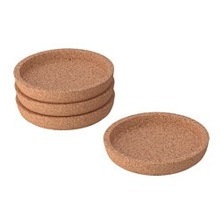 IKEA 365+ coaster, cork