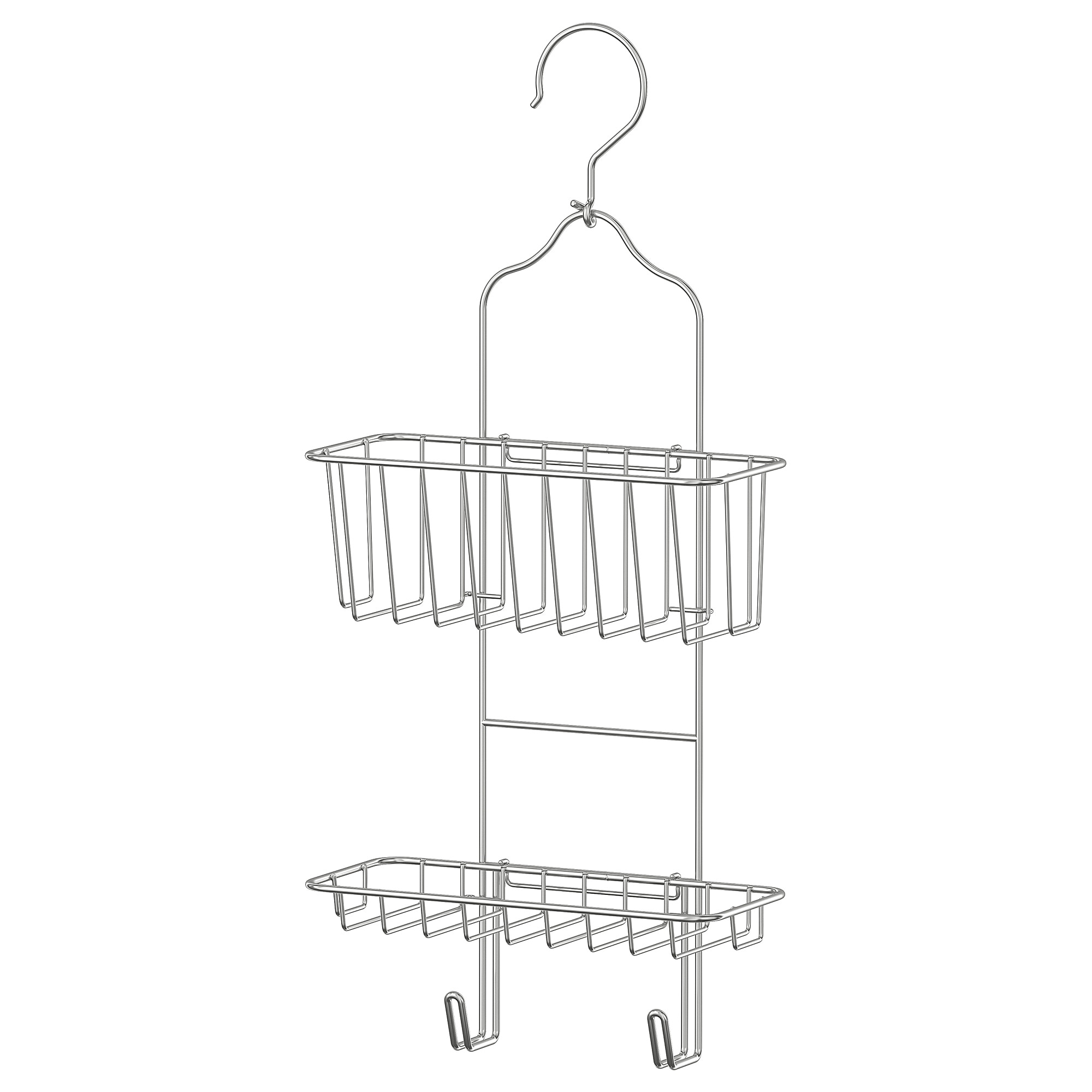 Immeln Shower Caddy Two Tiers Zinc Plated