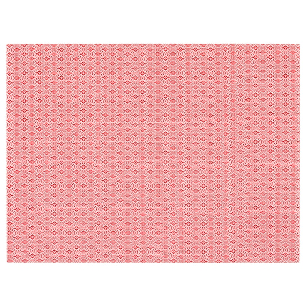 Gallra Place Mat Red Patterned Ikea