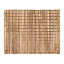 TOGA place mat, natural, bamboo