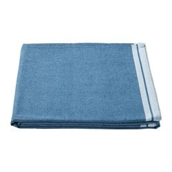 SEVÄRD tablecloth, dark blue