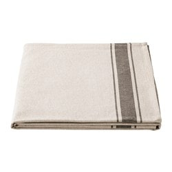 VARDAGEN tablecloth, beige