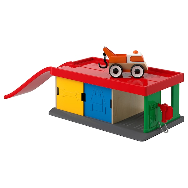 IKEA LILLABO Garage with tow truck
