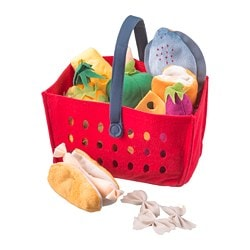LÅTSAS 11-piece shopping basket set