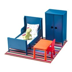 HUSET Doll furniture, bedroom