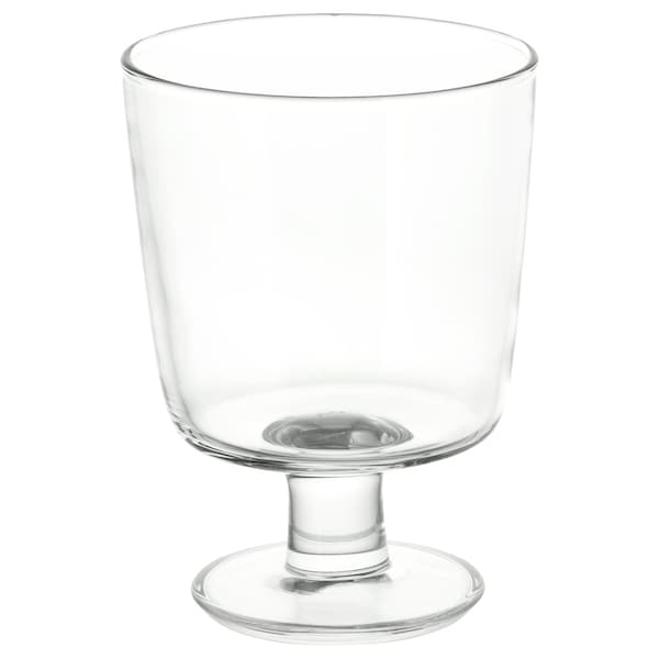 IKEA 365+ Goblet clear glass IKEA