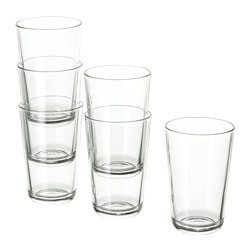 IKEA 365+ glass, clear glass