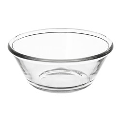 VARDAGEN bowl, clear glass