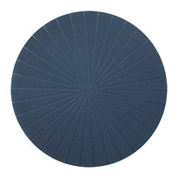 PANNÅ place mat, dark blue