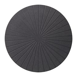PANNÅ place mat, black