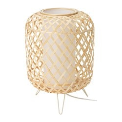 GOTTORP table lamp, bamboo