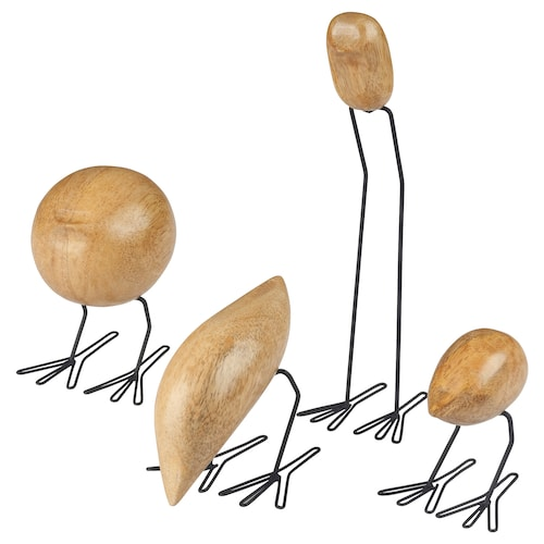 IKEA FISKELÄGE Decoration, set of 4