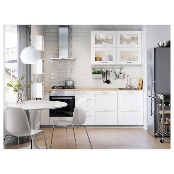 Tavolo Tulip Ikea.Table Docksta White