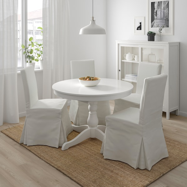 IKEA INGATORP / HENRIKSDAL Table and 4 chairs