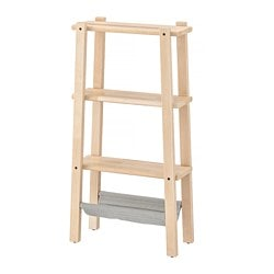 VILTO shelving unit, birch