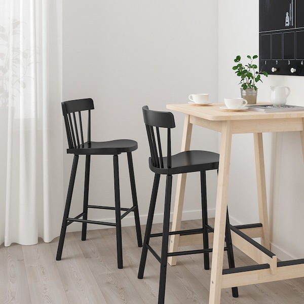 norrÅker  norraryd bar table and 2 bar stools  birch