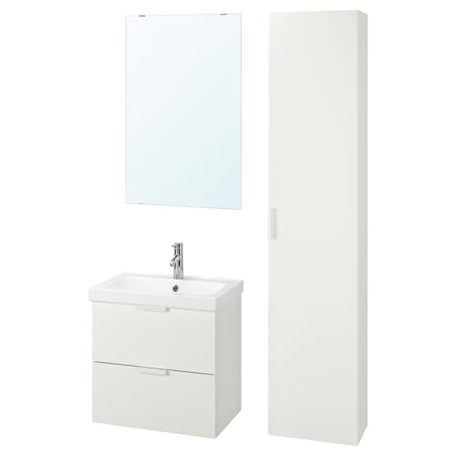 IKEA GODMORGON / ODENSVIK Set mobilier baie, 5 piese