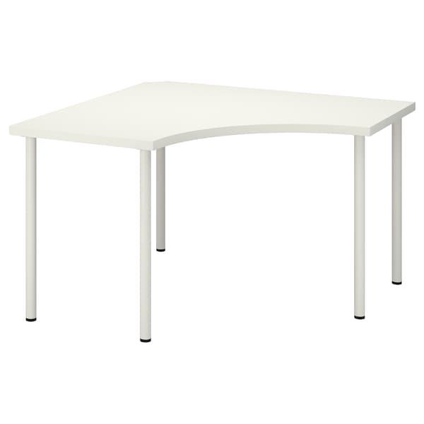 Scrivania Vika Ikea.Corner Table Linnmon Adils White