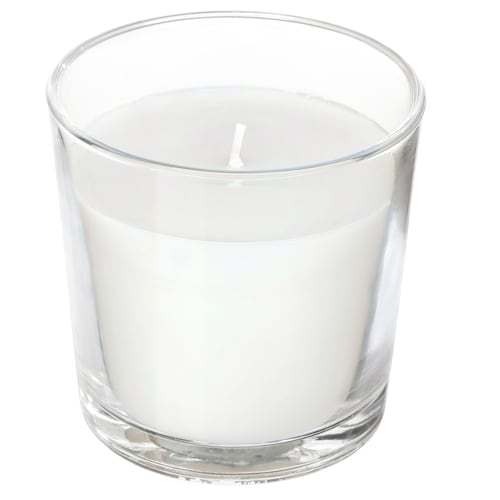 eb7ce13466d IKEA SINNLIG Scented candle in glass