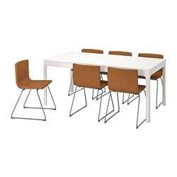 Ekedalen Bernhard Table And 6 Chairs