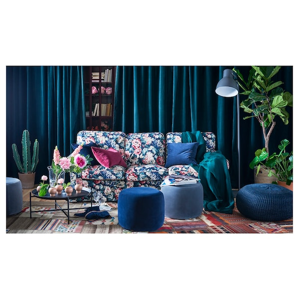 Ektorp Three Seat Sofa Lingbo Multicolour Ikea