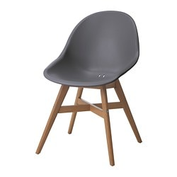 FANBYN chair, gray