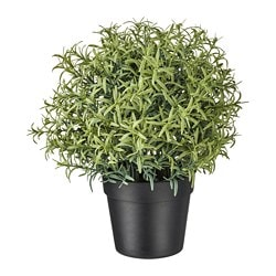 FEJKA artificial potted plant, Rosemary
