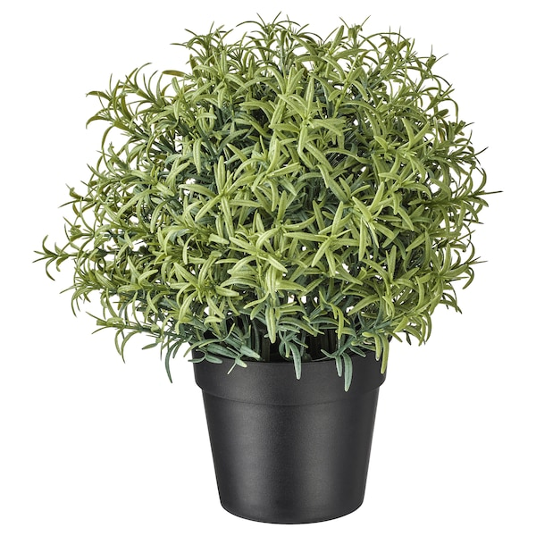 Artificial potted plant FEJKA Rosemary